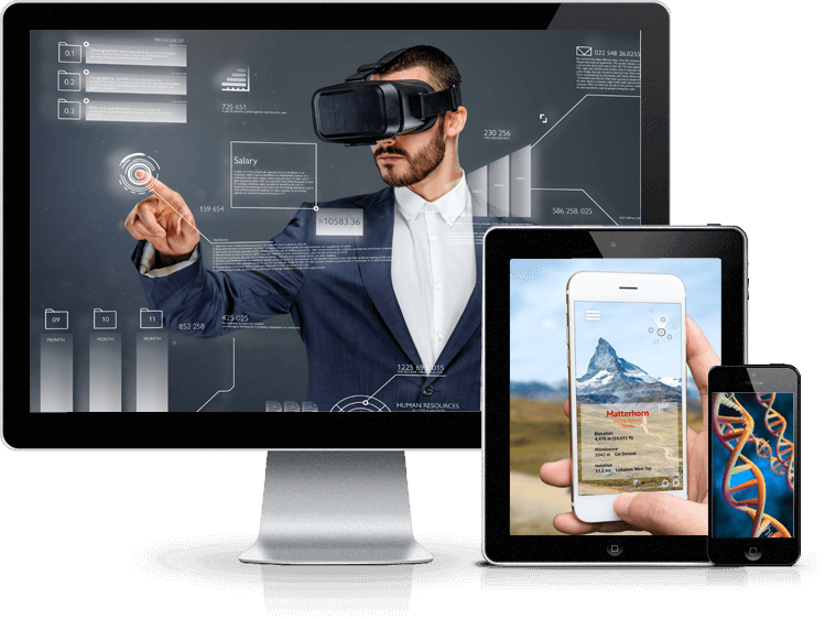AR Application Development Services, Virtual Reality Application Development Company